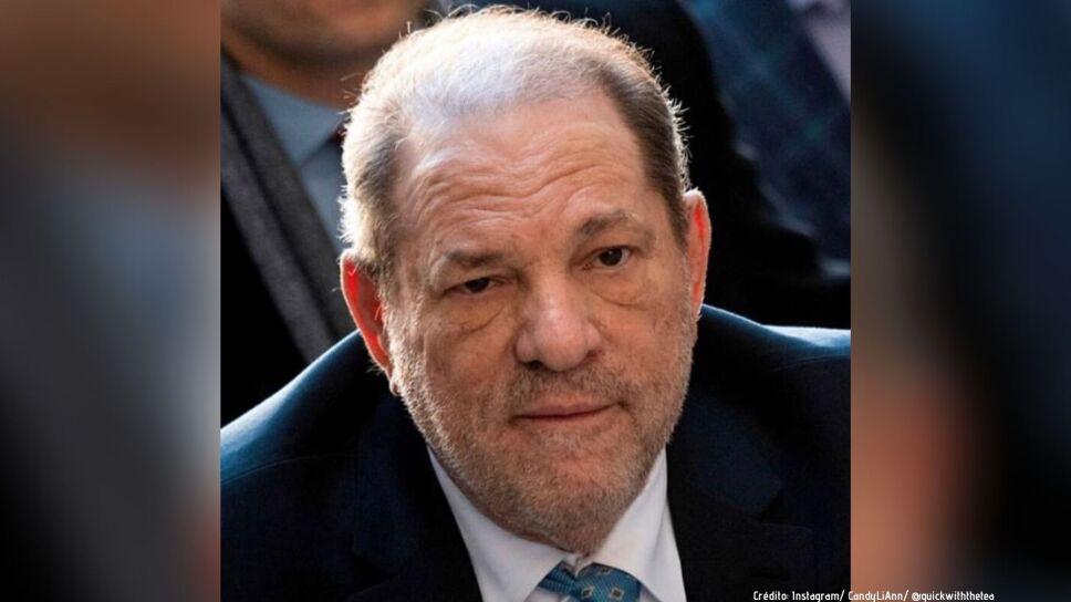 Harvey Weinstein fue puesto en aislamiento en prisión tras dar positivo en Coronavirus.
