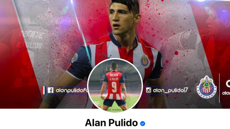 Alan Pulido le hace un guiño a Chivas con su nueva foto de perfil