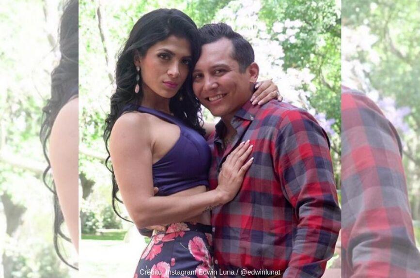El amor entre Edwin Luna y Kimberly Flores es del bueno.