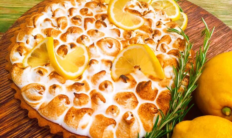 Receta Tarta de limón Cocineros Mexicanos