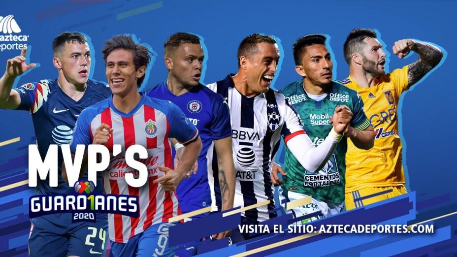 Los MVP's de todos los equipos de la Liga MX para Guard1anes 2020