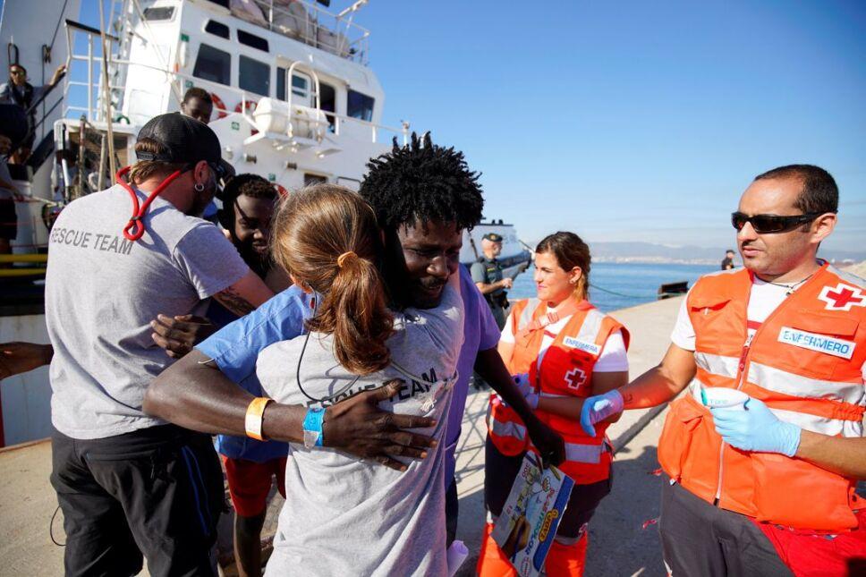 migrantes europa espana3