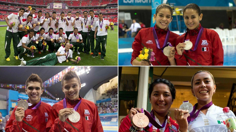 24 medallistas olímpicos mexicanos Londres 2012.jpg