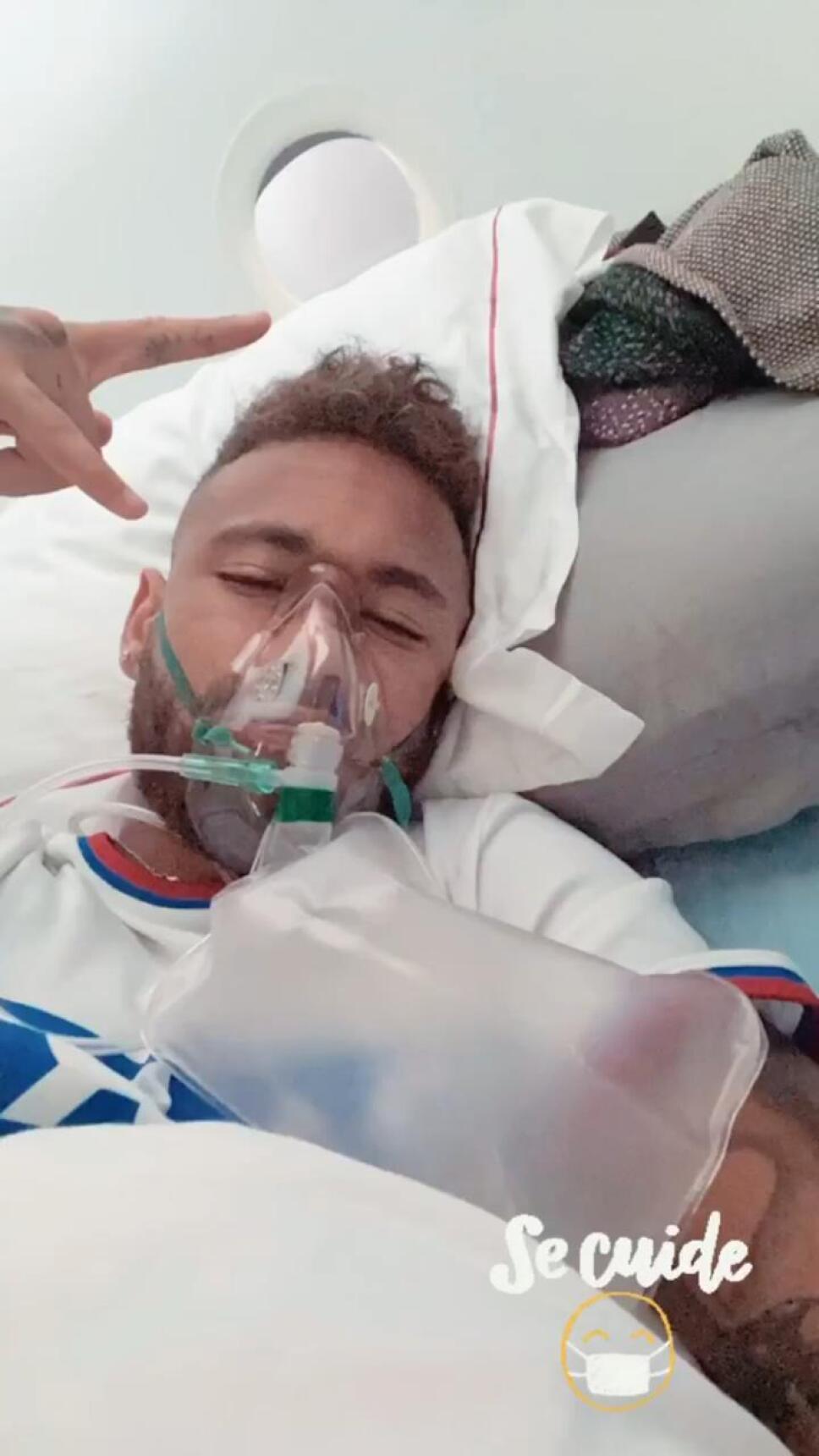 La polémica foto de Neymar previo a la final de Champions
