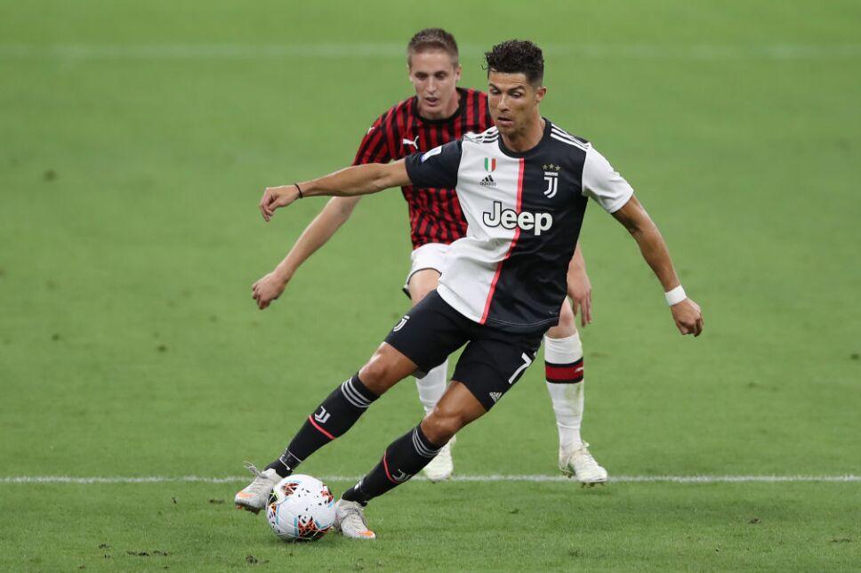 Cristiano Ronaldo y la Juventus visitan al Milán