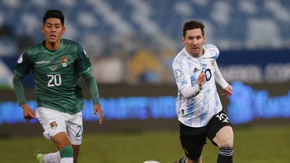Copa America 2021, Bolivia v Argentina