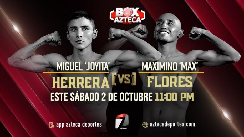 Pelea de boxeo Miguel Herrera vs Max Flores Box Azteca