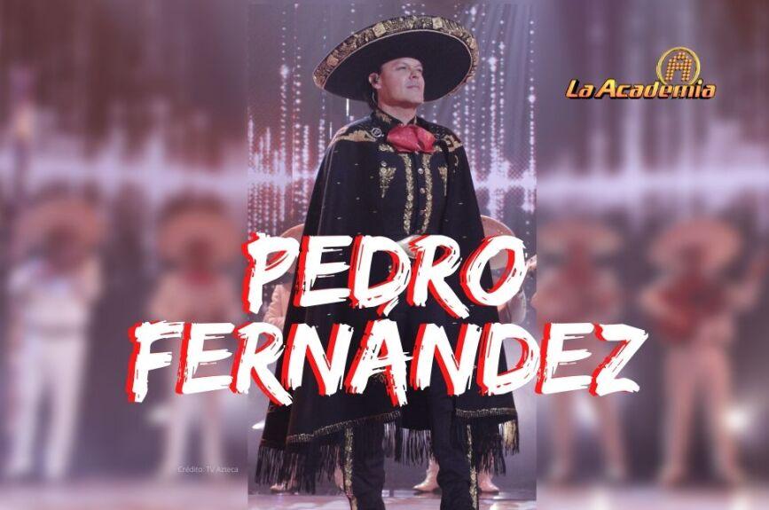 Pedro Fernández Final La Academia