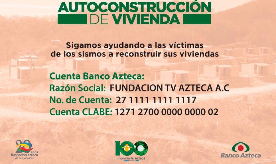 Movimiento Azteca continúa durante septiembre