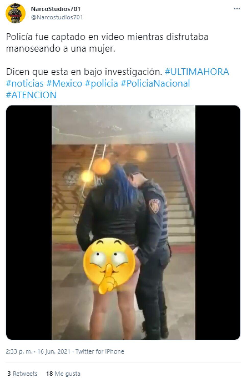 Policía Metro CDMX