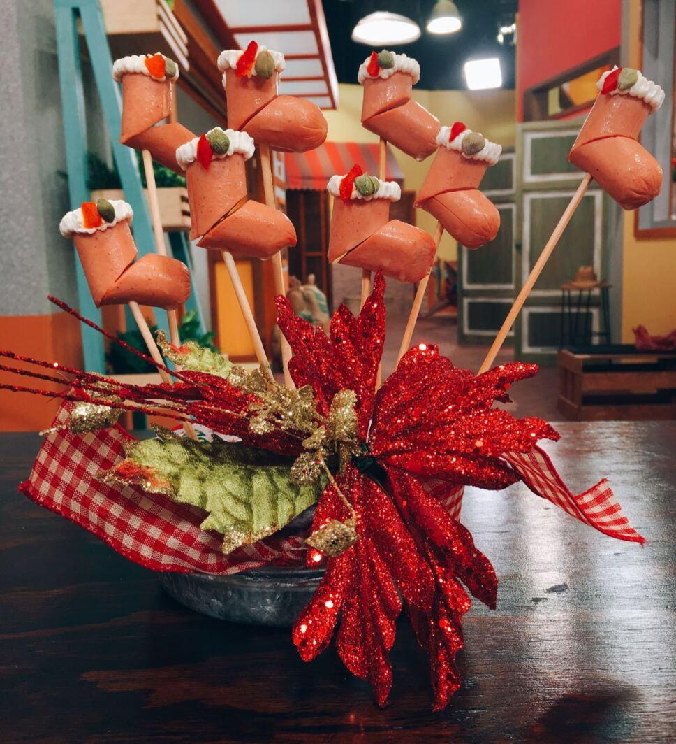 botitas de salchicha, cocineros mexicanos