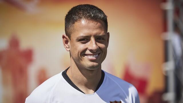 Sevilla CF Unveil New Player Javier Hernandez