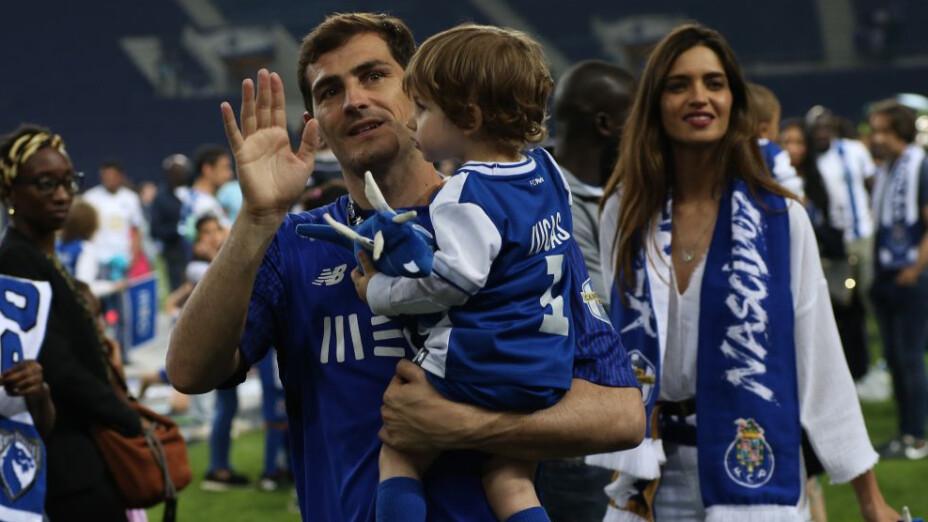 La espectacular atajada del hijo de Iker Casillas