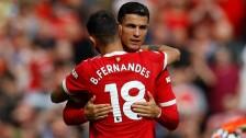 Crstiano Ronaldo celebra