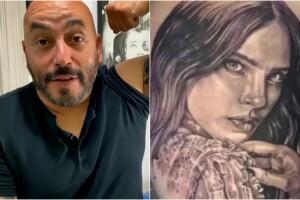 Lupillo Rivera borro el tatuaje de Belinda y esto tiene que decir el internet