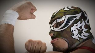 Muerte del luchador Silver King