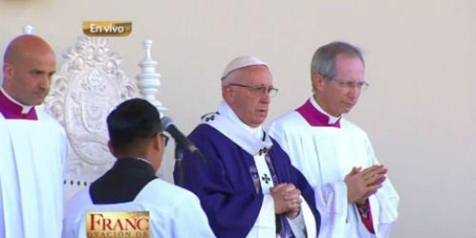 Papa Francisco misa en Ciudad Juárez