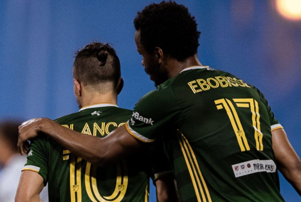Javier Hernández Galaxy vs Portland