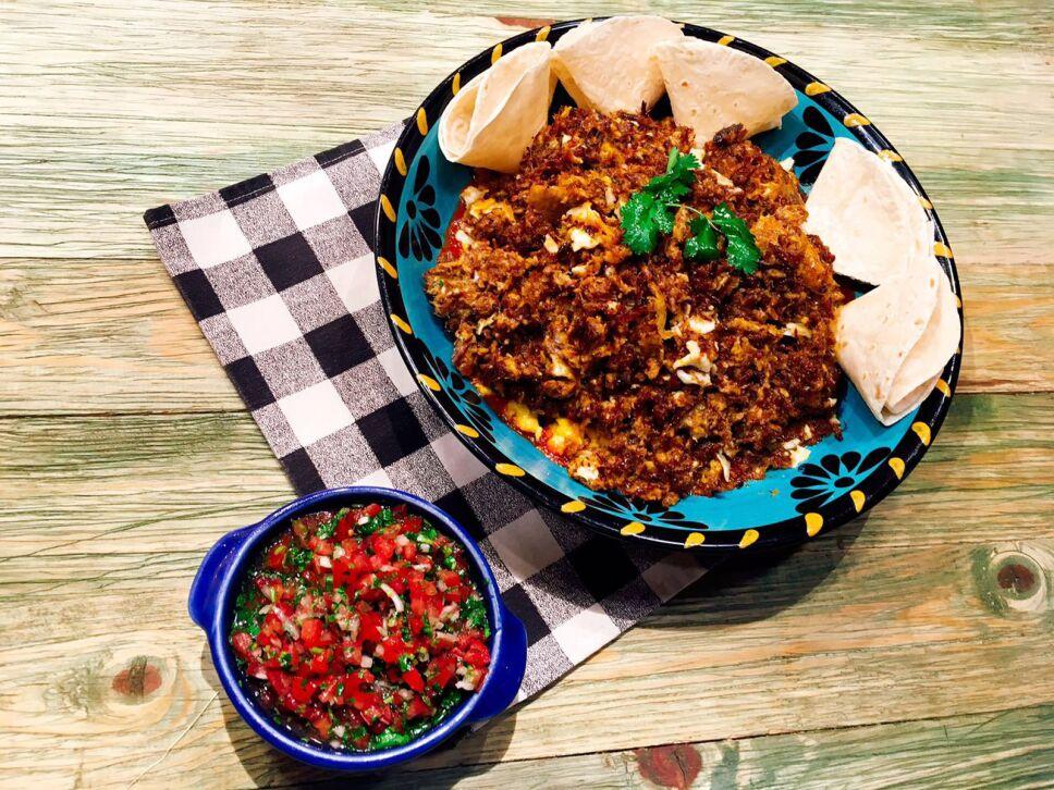 Machaca con huevo, Cocineros Mexicanos