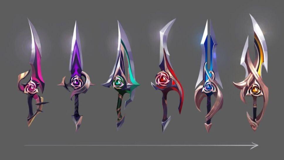 Espadas Riot Games
