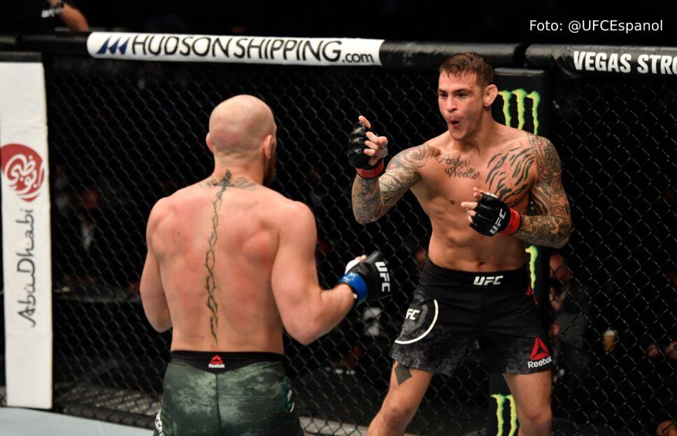 Dustin Poirier noquea a McGregor en UFC 257