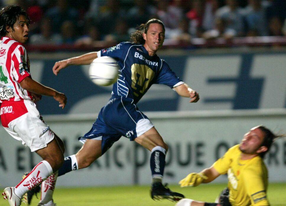 Antonio de Nigris jugó para Pumas