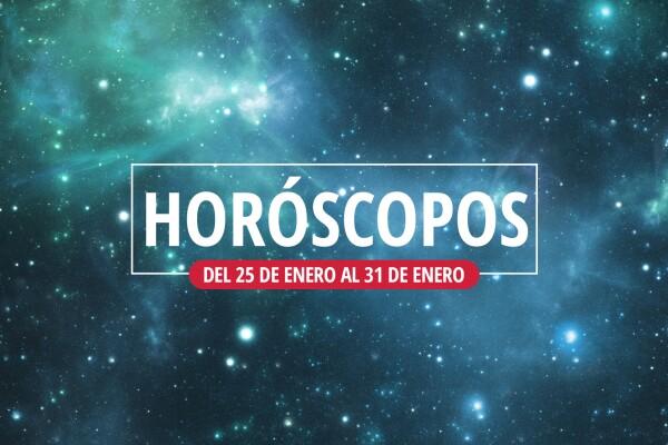 horoscopos del 25 al 31 de enero por cosmolau