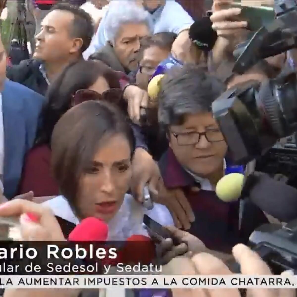 Rosario Robles Noticias: Fiscalía General De La República Imputó Y Acusó