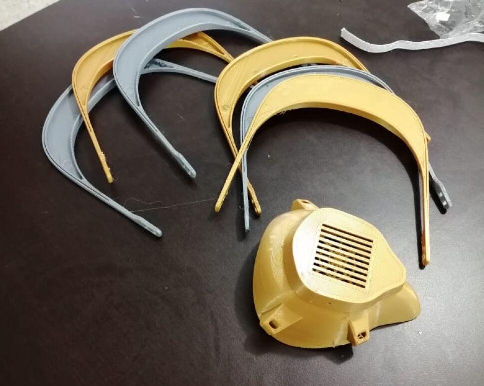 Desarrolla TecNM mascarilla con tecnología 3D para médicos tratantes del COVID-19