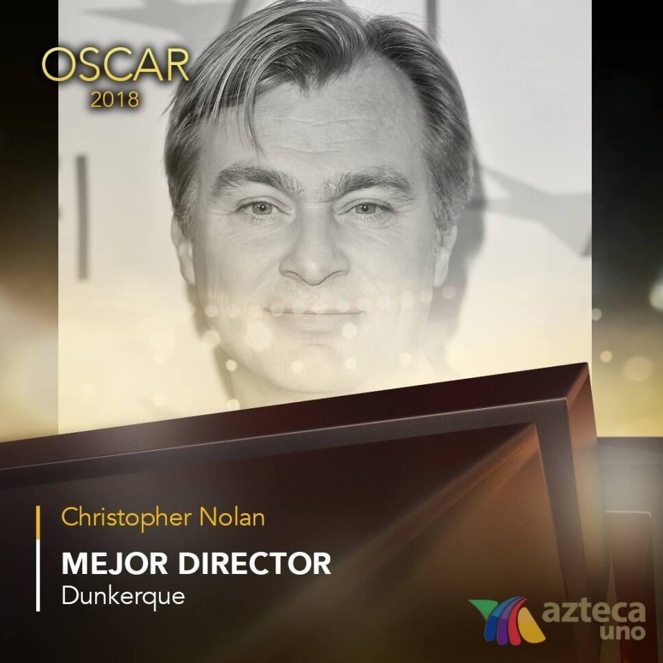 Christopher Nolan, Oscar 2018, Nominaciones Mejor Director