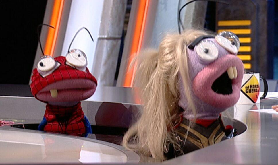 Trancas y Barrancas disfrazados de Sipiderman y Thor