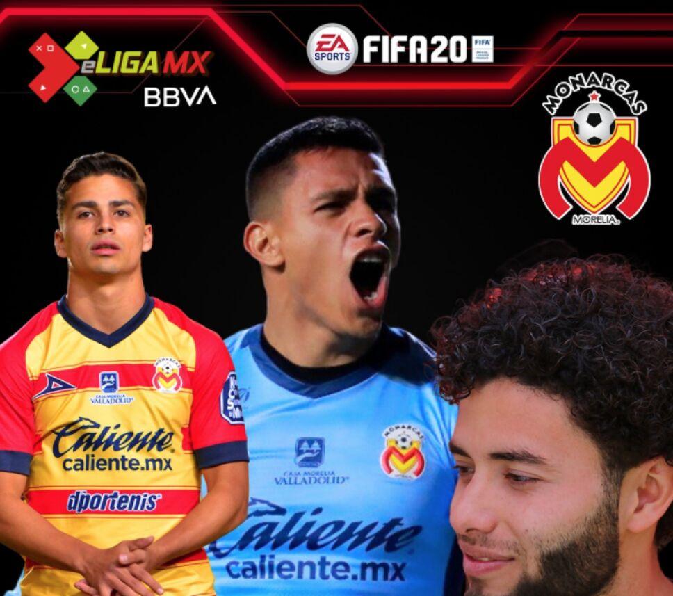 Los representantes de Monarcas Morelia en la e Liga MX