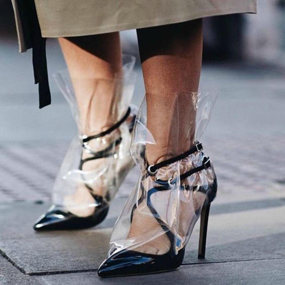 zapatos plastico