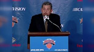 James Dolan, presidente de los Knicks de Nueva York fue detectado con COVID-19