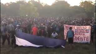 Migrantes ingresan por Chiapas