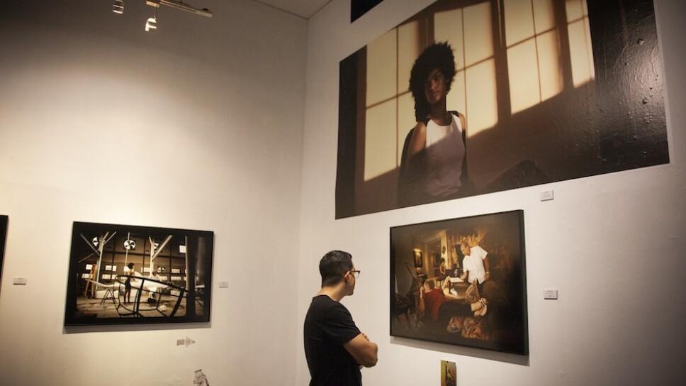 La exposición se realiza en la galería Traeger & Pinto Arte Contemporáneo