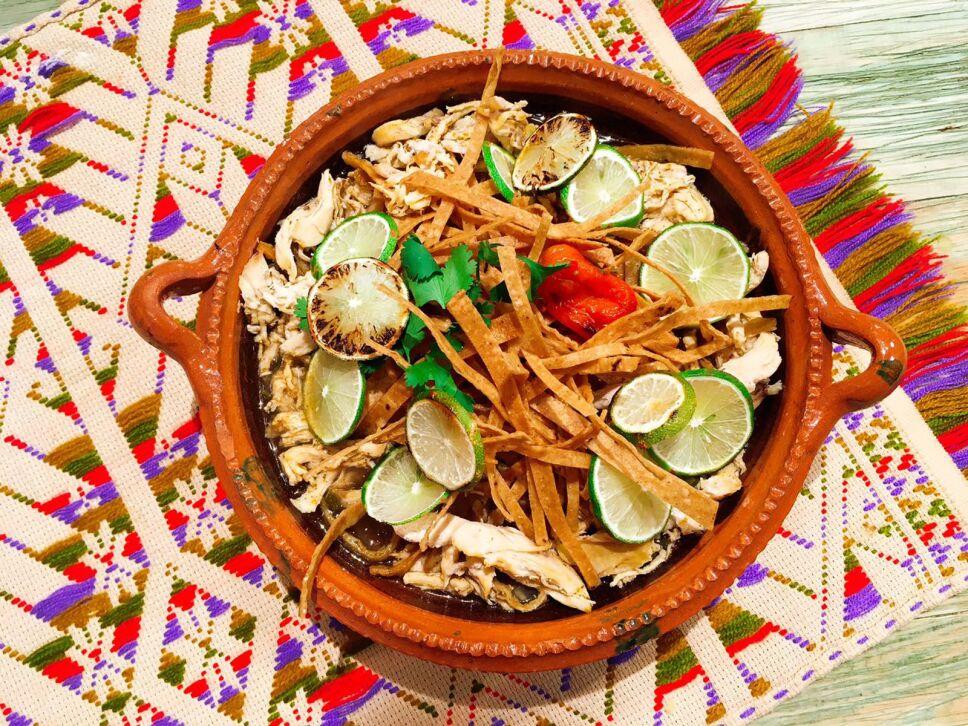 Sopa de Lima cocineros mexicanos