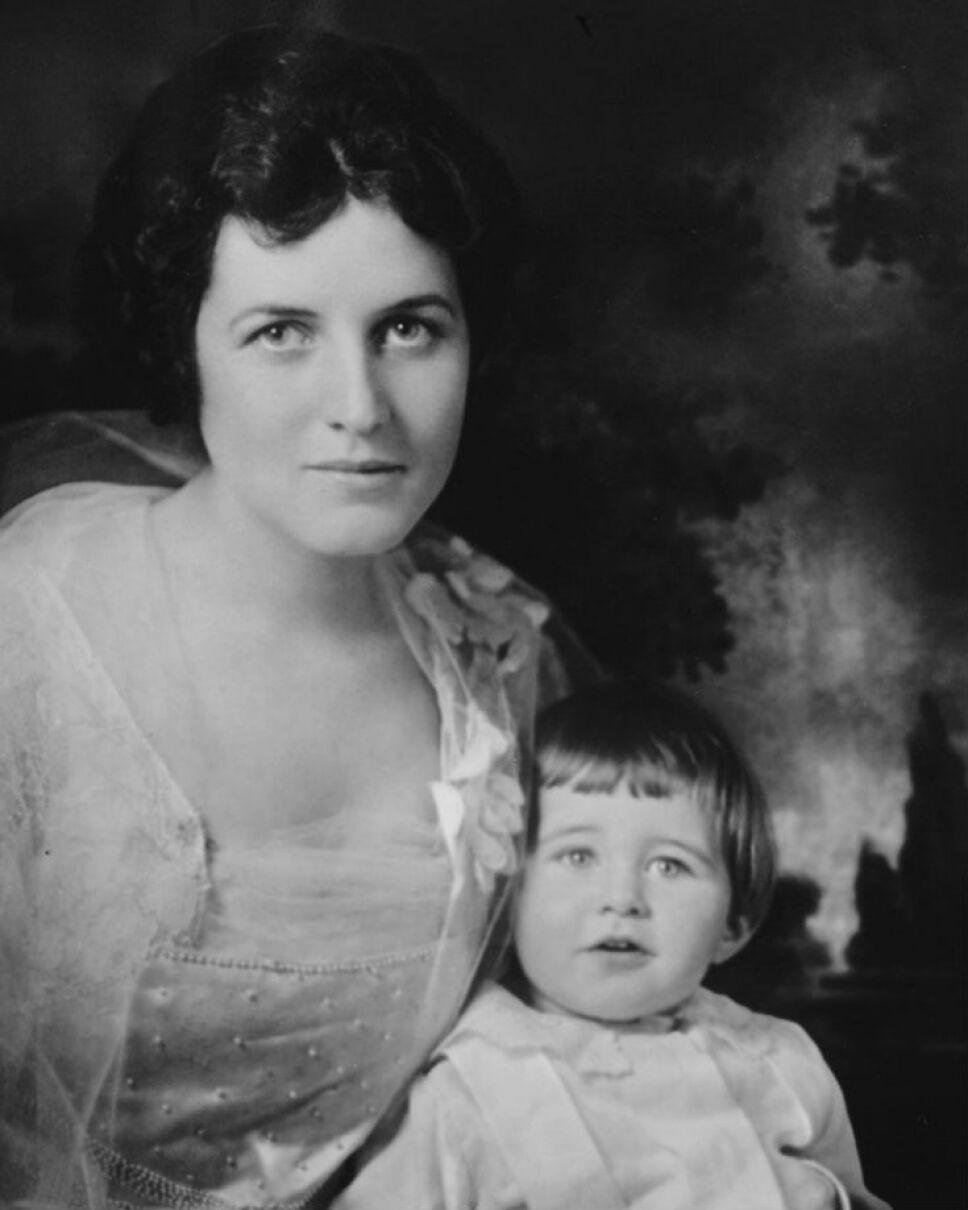 Rose y Joseph Kennedy Jr., su primogénito