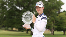 Nelly Korda ganó el Meijer LPGA Classic.