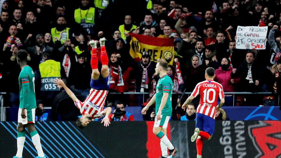 Champions League - Group D - Atletico Madrid v Lokomotiv Moscow