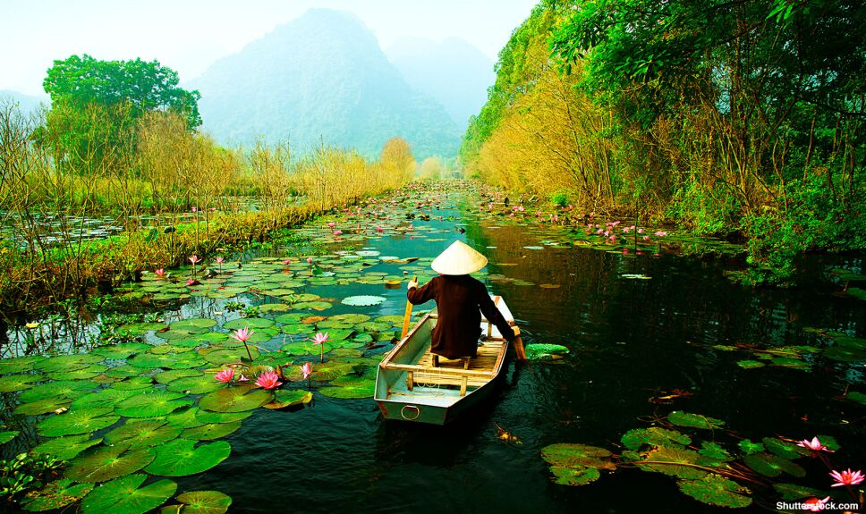 abandonados vietnam gente lago