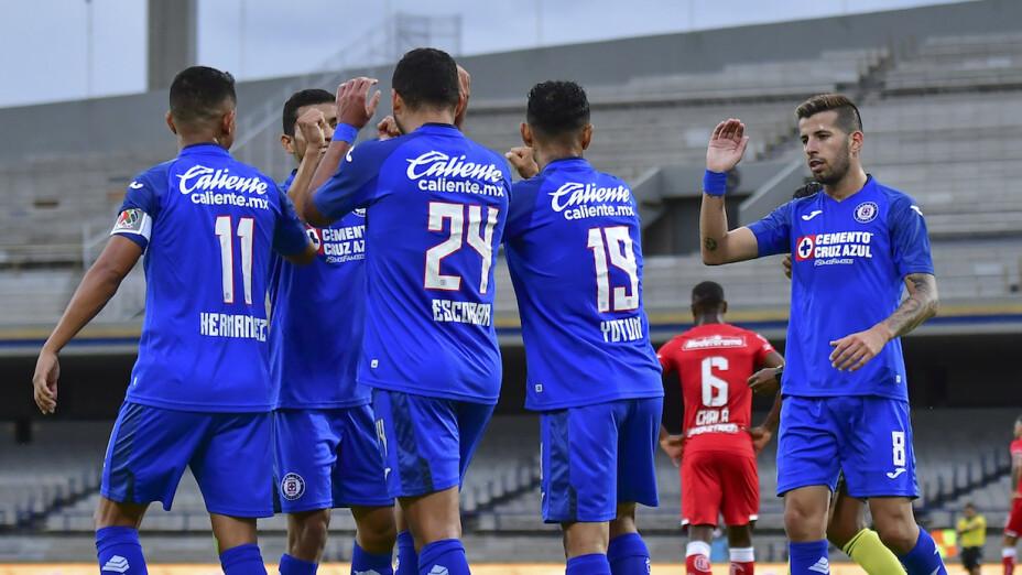 Cruz Azul llega en gran forma a las semifinales ante Tigres