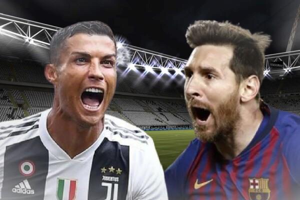 Cristiano Ronaldo y Lionel Messi en el equipo de la década