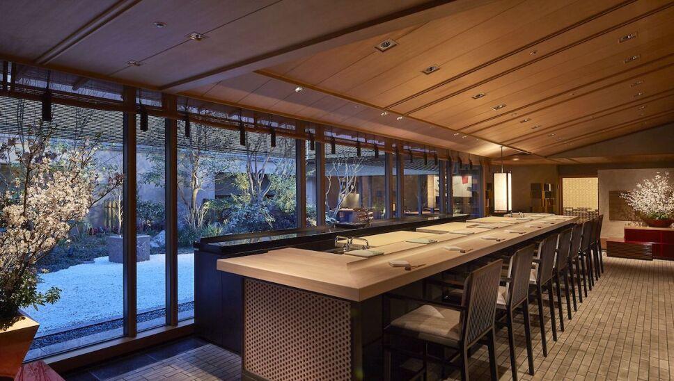 comedor Ritz-Carlton Osaka