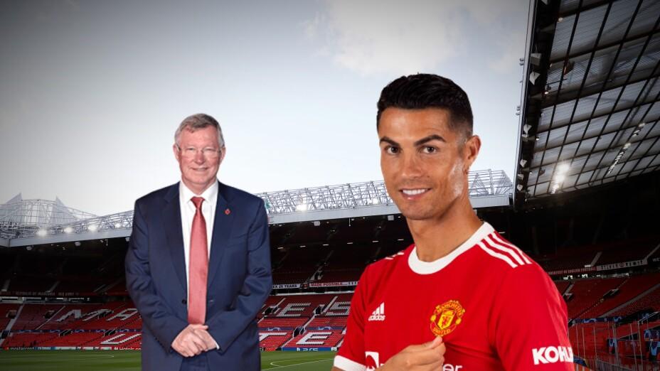 Alex Ferguson y Cristiano Ronaldo