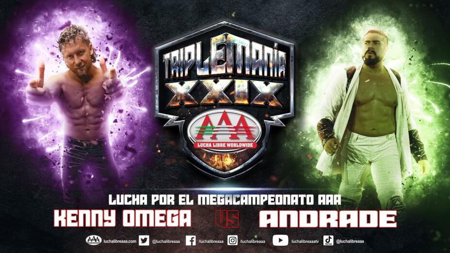 Triplemanía XXIX luchas anunciadas