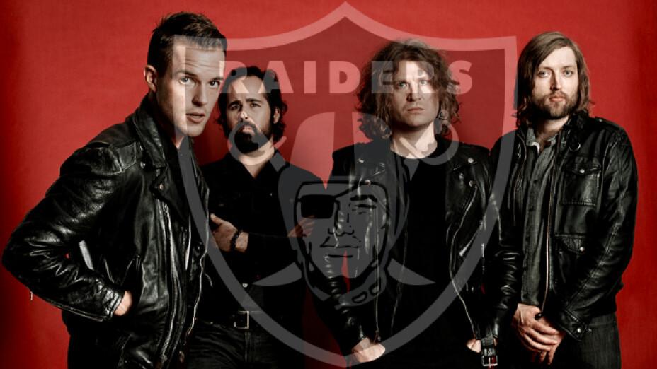 The Killers estrenarán la nueva casa de los Raiders