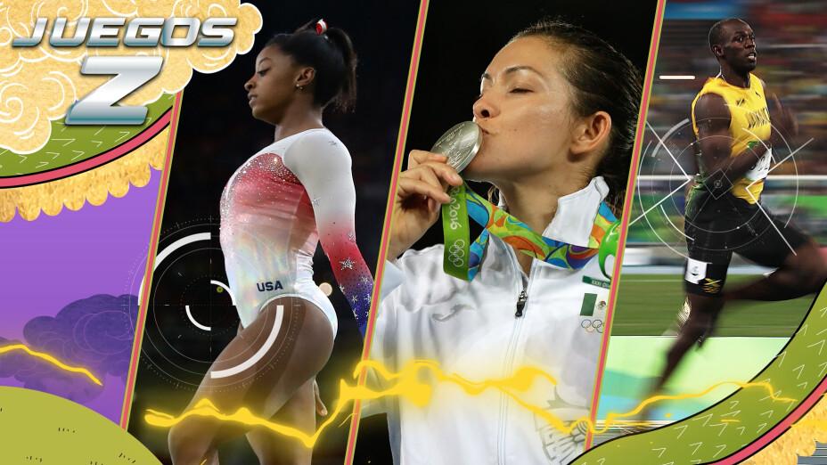 Gokú y Vegeta Azteca Deportes Juegos Olímpicos