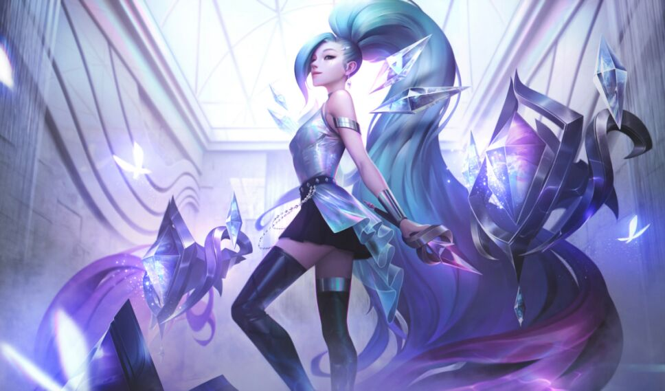 Seraphine campeones de League of Legends