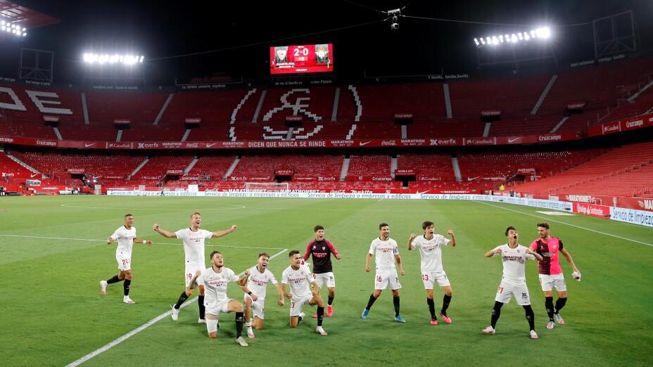 Sevilla derrota al Real Betis en el regreso de La Liga